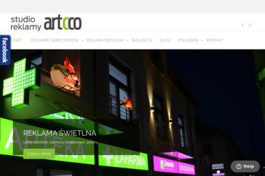 Studio Reklamy Artcco - Pozycjonowanie stron Sędziszów Małopolski