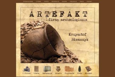 Firma Archeologiczna Artefakt Krzysztof Błaszczyk - Geodeta Radomsko