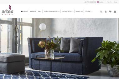 ARTEX HOME tkaniny meblowe, dekoracyjne, usługi tapicerskie, meble tapicerowane - Usługi Tapicerskie Swarzędz