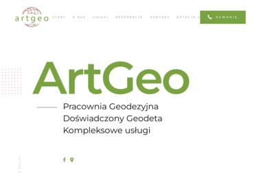 Pracownia Geodezyjna ArtGeo. Geodezja, rozgraniczenia - Geodeta Trzebień