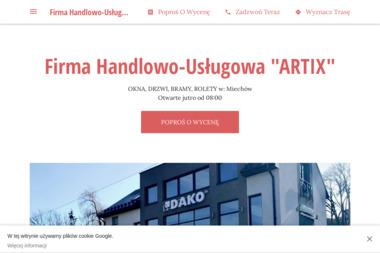 """Firma Handlowo-Usługowa """"ARTIX"""" - Drzwi Miechów"""