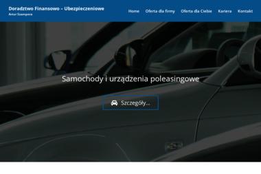 Doradztwo Finansowo-Ubezpieczeniowe Artur Szampera. Ubezpieczenia, inwestycje - Ubezpieczenia Bytom