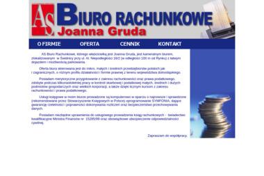 As Biuro Rachunkowe Joanna Gruda - Rachunkowość Świdnica