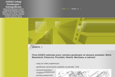 Asgeo Adam Szczepaniak. Usługi Geodezyjne i Kartograficzne - Usługi Geodezyjne Mińsk Mazowiecki