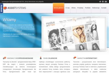 AssistSystems. Crm, erp - Strony WWW Gorzów Wielkopolski