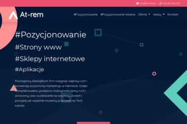 At-Rem. Projektowanie, tworzenie i pozycjonowanie stron www - Linki sponsorowane, banery Rybnik