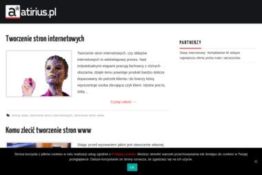 Atirius Soft. Projektowanie stron internetowych - Pozycjonowanie stron Dębica