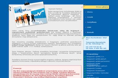 Biuro Rachunkowe ATUT s.c. - Finanse Tomaszów Mazowiecki