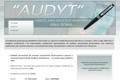 Audyt Kancelaria Biegłego Rewidenta Ewa Sowa - Biuro rachunkowe Przeworsk