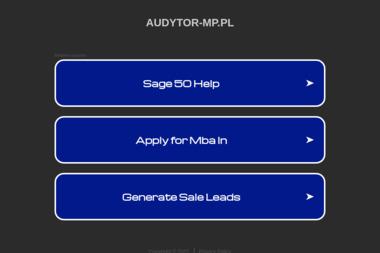 Audytor Marek Piątek Biuro Rachunkowe. Księgowość, doradztwo - Biuro rachunkowe Jelenia Góra