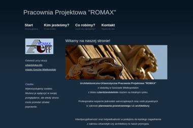 """Architektoniczno Urbanistyczna Pracownia Projektowa """"Romax"""" Roman Ropela - Projekty Domów Gorzów Wielkopolski"""
