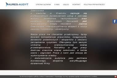 Aures-Audyt Kancelaria Biegłego Rewidenta i Doradcy Podatkowego Joanna Zdanowska - Finanse Kraśnik