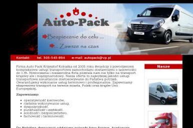 Auto Pack Michał Kobiałka - Przeprowadzki Radom