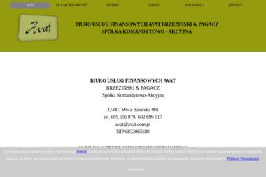 Biuro Usług Finansowych Avat s.c. Biuro rachunkowe, pełna księgowość - Biuro rachunkowe Wola Batorska