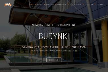 Autorski Warsztat Architektury AWA. Bartłomiej Kąkol - Projekty domów Pruszków