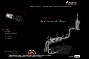 Axces Production Sp. z o.o. - Hale Magazynowe Młyny