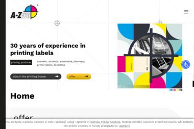 Drukarnia A z Color Andrzej Zecer - Druk katalogów i folderów Antonie