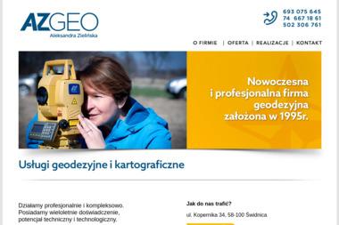AZGEO Usługi Geodezyjne i Kartograficzne Aleksandra Zielińska - Geodeta Świdnica