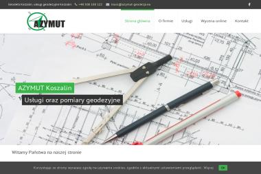 Usługi Geodezyno-Kartograficzne Azymut - Firma Geodezyjna Koszalin