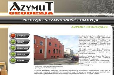 Biuro Usług Geodezyjnych Azymut. Grzegorz Cebulski - Firma Geodezyjna Zielona Góra