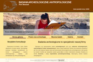 Badania Archeologiczne i Antropologiczne Piotr Banaszak - Usługi Geodezyjne Goleniów