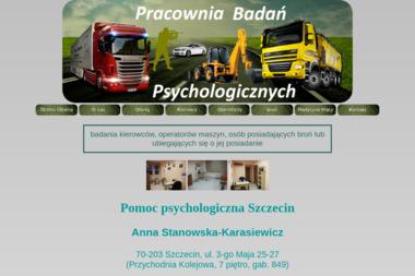 Pracownia Badań Psychologicznych Anna Stanowska - Psycholog Szczecin