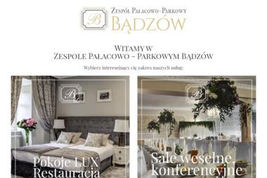 Witkowski Jan Zespół Pałacowo Parkowy - Firma Cateringowa Bądzów
