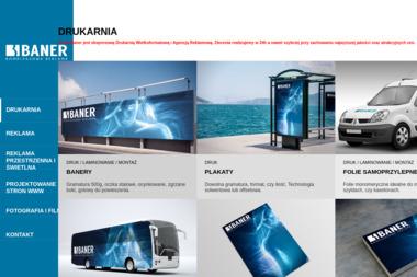 Studio Reklamy Wizualnej Baner Urszula Stachura - Usługi Reklamowe Mysłowice