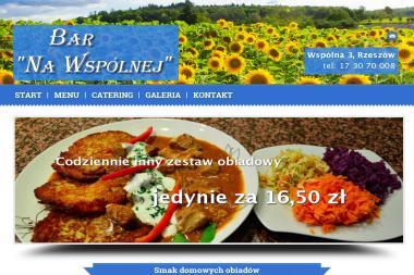 Bar Na Wspólnej - Catering dla firm Rzeszów