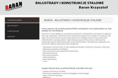 Balustrady i Konstrukcje Stalowe - Schody Metalowe Wałbrzych