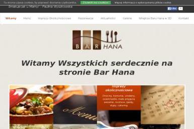 Bar Gastronomiczno-Handlowy Hana Hanna Antonijević - Firma Cateringowa Wschowa