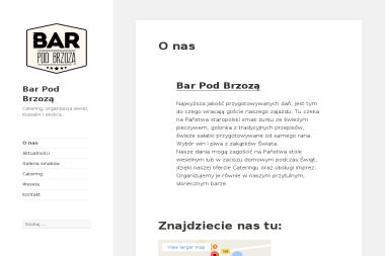 Bar pod Brzozą Elżbieta Cel - Catering Dla Firm Mostowo