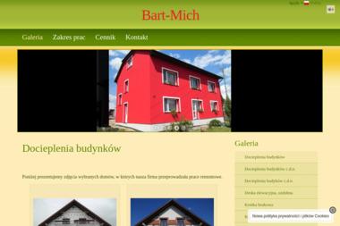 Firma Handlowo Usługowa Bart Mich Bartłomiej Michalik - Budowa Domu Pod Klucz Łukawiec