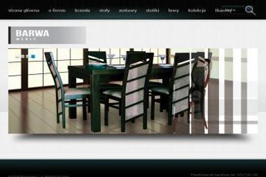 PPH BARWA MEBLE. Meble tapicerowane, krzesła, stoły - Tapicer Radomsko