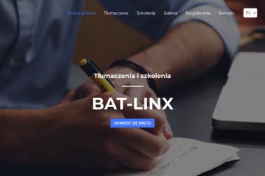 Bat Linx Tłumaczenia i Szkolenia Marek Błaszczyk - Tłumacze Redzikowo