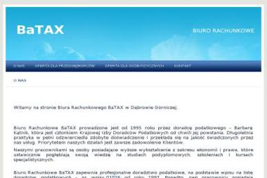Biuro Rachunkowe BaTAX Barbara Kątnik - Biuro rachunkowe Dąbrowa Górnicza