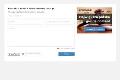 Batif. Zakład produkcji odzieży. Szurgot Andrzej - Odzież Czechy