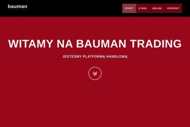 Bauman Trading Jarosław Czekaj - Układanie Płytek Leszno