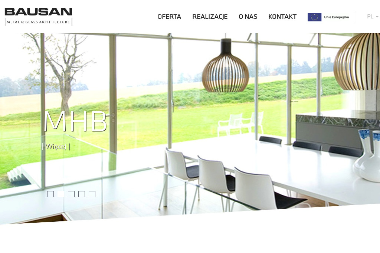 Bausan Aluminium Sp.z o.o. Konstrukcje aluminiowo-szklane, balustrady, sky-frame - Okna PCV Toruń