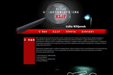 Biuro Detektywistyczne Klif Lidia Kilijanek - Prywatny Detektyw Radom