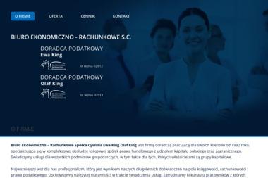 Biuro Ekonomiczno - Rachunkowe  Spółka Cywilna Ewa King Olaf King - Firma audytorska Wałbrzych