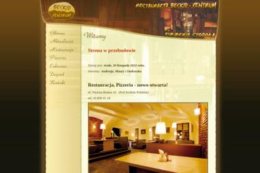 Restauracja Beskid-Centrum/Pizzeria Stodoła - Usługi Kulinarne Brenna