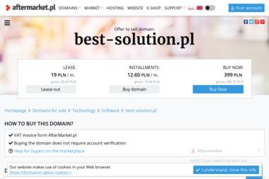 Best Solution Wojciech Waszak. Outsourcing it, pogotowie informatyczne - Strona Internetowa Wronki