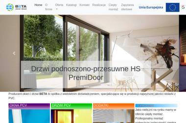 PW Beta s.c. O/Przemyśl. Aluminiowe okna, okna al - Okna PCV Przemyśl