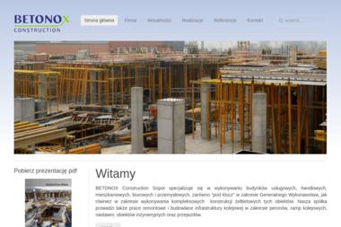 Betonox Construction S.A. Sp.K. - Budowa Domów Sopot