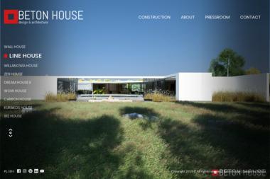 Architekt Seweryn Nogalski. Pracownia Projektowa Beton House - Projektowanie Wnętrz Katowice