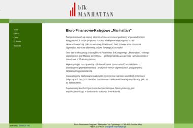 Biuro Finansowo Księgowe Manhattan Grzebyta Mariola - Biuro rachunkowe Gorzów Wielkopolski