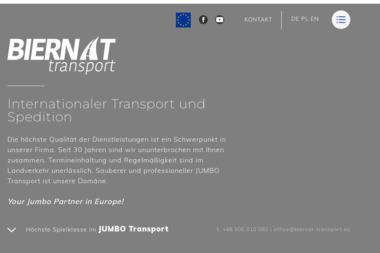 Handel Usługi Stanisław Biernat - Transport Drogowy Drezdenko