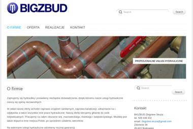 Bigzbud Usługi Hydrauliczne Zbigniew Skuza - Hydraulik Zdonków