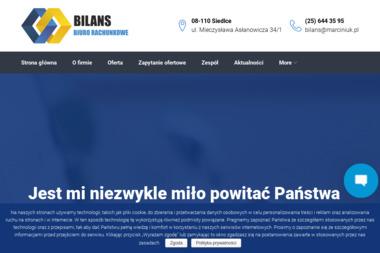 Leszek Marciniuk Biuro Rachunkowe Bilans - Usługi finansowe Siedlce